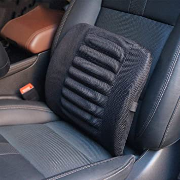 Breathable Mesh Premium Memory Foam Lumbar Back Support For Car Seat Cushion Computer Office Chair