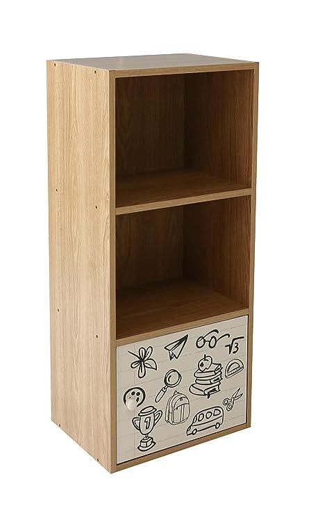 3-Tier mueble de obras de arte madera escuelas guarderías ...