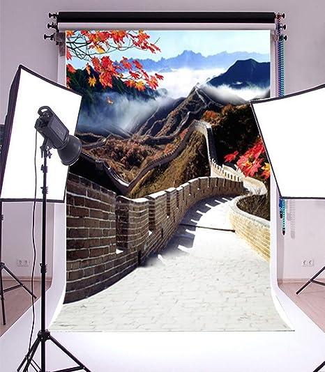 Laeacco Fotohintergrund Aus Vinyl 90 X 150 Cm Motiv Kamera