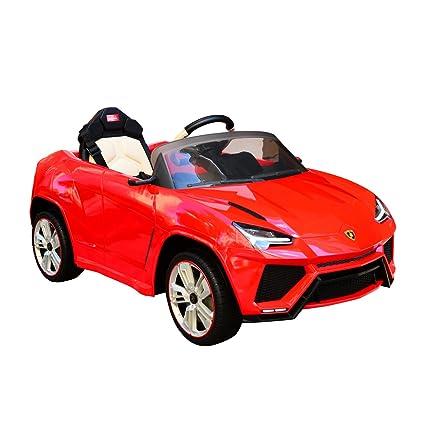 Lamborghini Electric Car For Kids >> Amazon Com Aosom 12v Lamborghini Urus Kids Electric Ride On Car