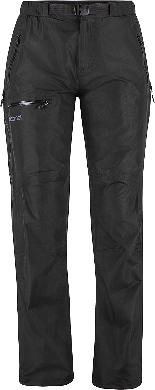 Mujer Marmot Wms Eclipse Pant Pantalones Impermeables Pantalones de Lluvia Prueba de Viento Transpirables