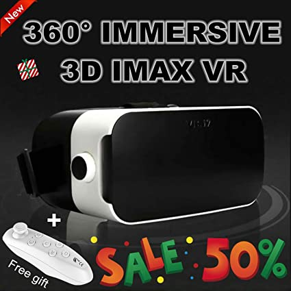 Amazon Com Vr Headset Virtual Reality Headset 3d Vr Glasses Movie Game Visor 2019 Newest For Iphone 11 Pro Xs Xr X 8 7 6 S Samsung Galaxy A10e S10 S9 S8 S7