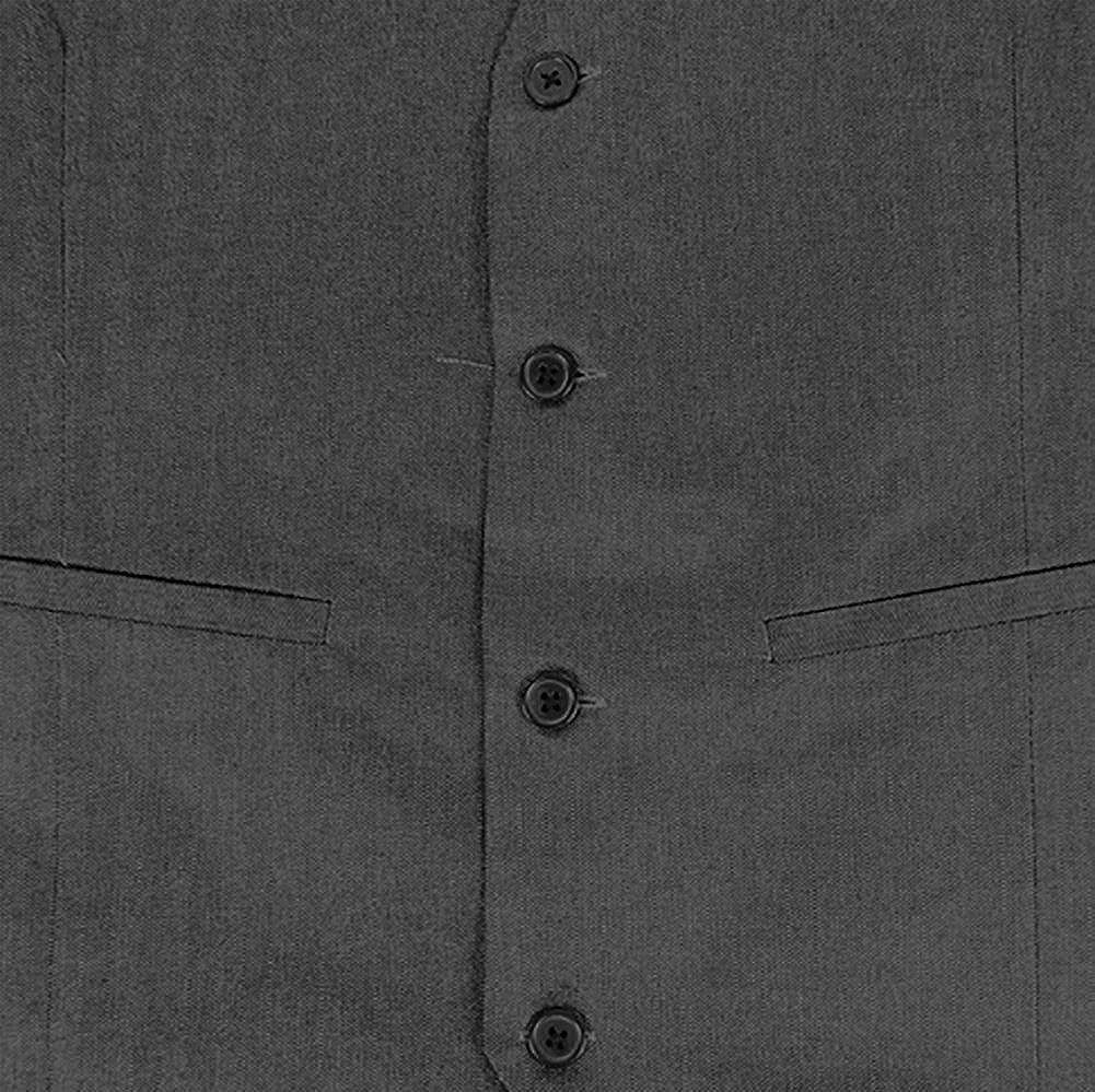 Selini Mens Classic Fit Button Front Dress Vest