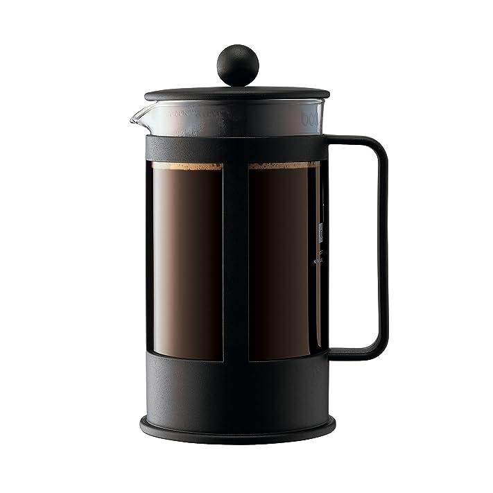Bodum - 1788-01 - Kenya - Cafetière à Piston - 8 Tasses - 1 L ...