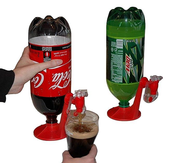 Romote bebida botella interruptor de la fuente revés de beber bebedor bebida dispensador de agua portátil: Amazon.es: Hogar