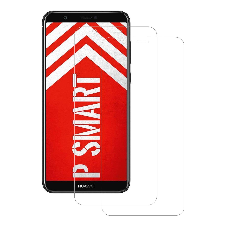 FayTun Pellicola Protettiva per Huawei P Smart, Vetro Temperato Huawei P Smart, Anti-Impronte, Anti-graffio, 9H Durezza, Pellicola di Vetro Protezione per Schermo Huawei P Smart [2-Pack] GOFES-EU