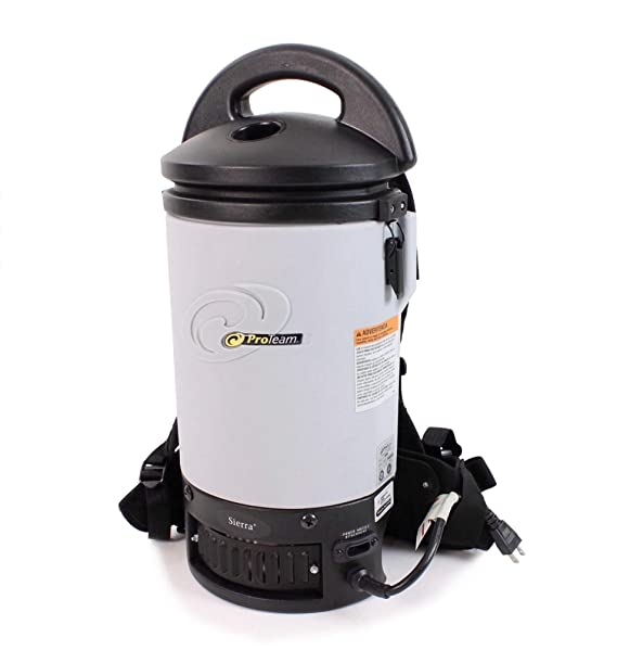 Amazon.com: ProTeam New Fully Loaded Powerful Sierra 6 QT Backpack Vacuum Electric Power Head Nozzle: Home & Kitchen
