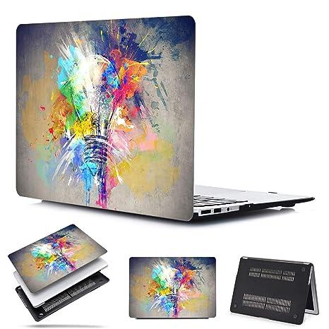 PapyHall - Carcasa de plástico para MacBook Pro de 13 ...