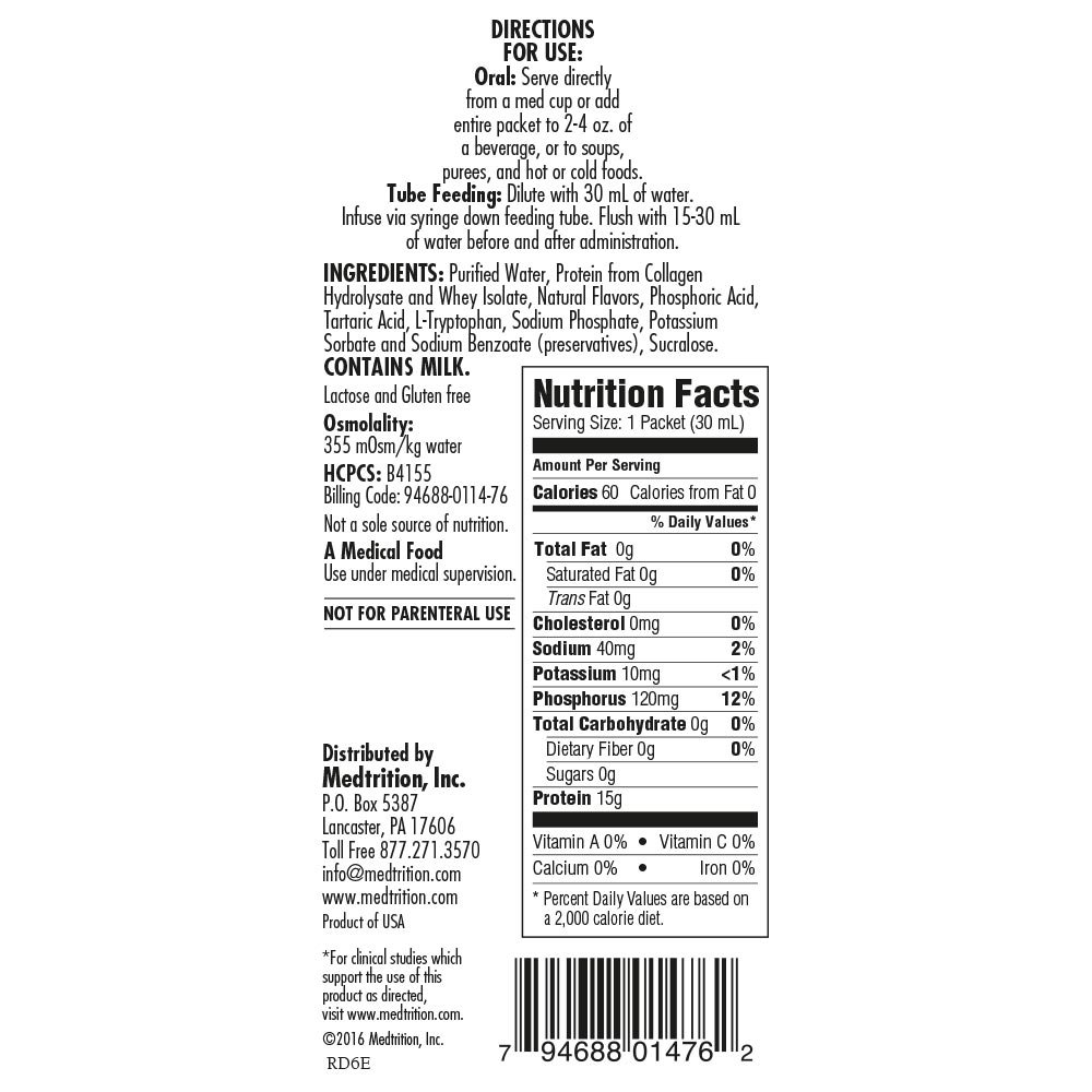 Medtrition NoCarb Neutral Packets