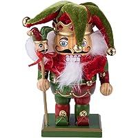 Clever Creations - Cascanueces rechoncho Tradicional de Navidad
