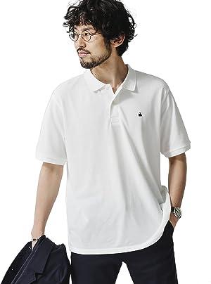 ナノ・ユニバース(nano・universe) ワンポイント刺繍ポロシャツ