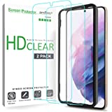 amFilm Protector Pantalla para Samsung Galaxy S21 Plus (2 Piezas), Híbrido (Fácil Instalación) Film Mica Protector de Pantall