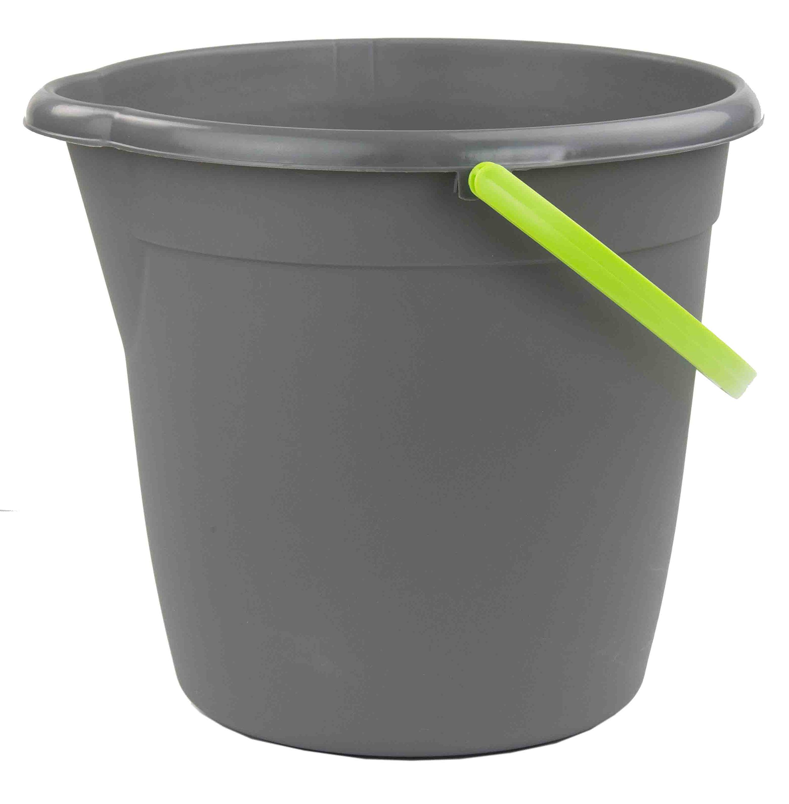 Home Basics Brilliant Collection Cleaning Bucket with Handle