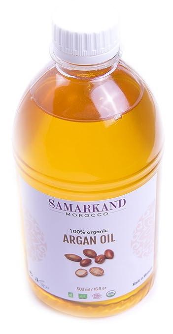 500 ml Aceite de Argán Bio 100% Puro con certificado Ecológico ECOCERT primera Presión en Frío para Pelo & Piel - El Argán Original de Marruecos: Amazon.es: ...