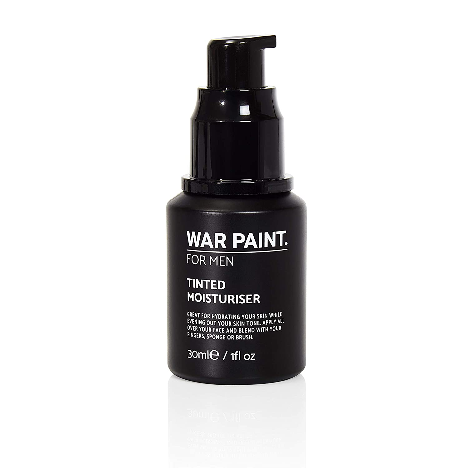 War Paint Men's Tinted Moisturiser – (Shade Tan) – 5 Shades available – Makeup Crafted For Men – Cruelty Free Vegan Products – Perfect Tone – Made in The UK