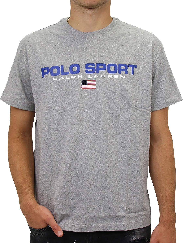 Camiseta Ralph Lauren Polo Sport Gris Hombre L Gris: Amazon.es ...