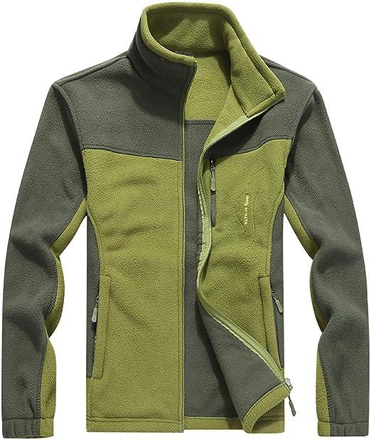 Mens Long Sleeve Sport Zipper Jackets Zipper Stand Collar Casual Coat Dress Tops