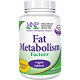 Michael's Naturopathic Programs Fat Metabolism Factors - 90 Vegan Tablets - Nutrients for The Metabolism of Fats & Cholestero