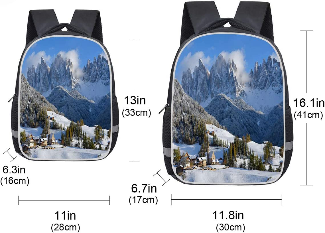 Backpack for Students Unisex Casual Daypack Elementary School Bags Travel Bag