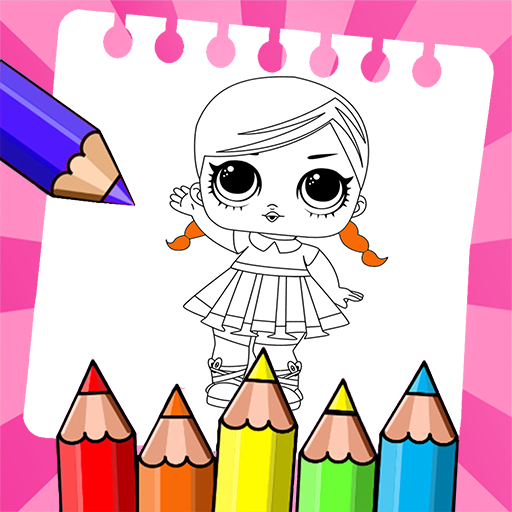 Amazon Com Cute Dolls Drawing Pages For Kids Appstore For Android