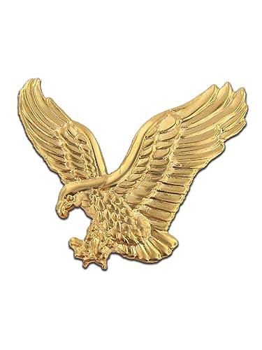 Amazoncom Gold Eagle Lapel Pin 1 Piece Jewelry