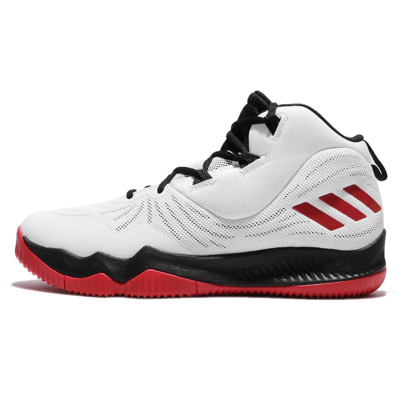 (アディダス) D ローズ ドミネイト III 3 メンズ バスケットボール シューズ adidas D Rose Dominate III CQ0729 [並行輸入品] B075K7118Q 28.0 cm ホワイト/ブラック/レッド