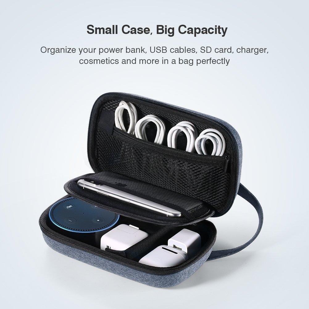 fd883945b5a9 UGREEN Bolsa Organizador Estuche para Bateria Externa Cargador Cables Disco  Duro Auriculares Tarjetas USB Accesorios Electrónica, Estuches Pequeños  Funda ...