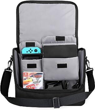 MoKo Nintendo Bolsa, Nintendo Switch Accesorios Bolso de Gran ...