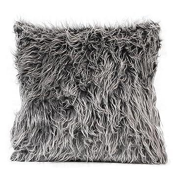 Amazon.com: Funda para almohada de tejido suave Cafe Home ...