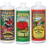 Fox Farm FX14049 Liquid Nutrient Trio Soil Formula: Big Bloom, Grow Big, Tiger Bloom (Pack of 3 - 32 oz. bottles)