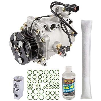 Nueva AC Compresor y embrague con completa a/c Kit de reparación para Mitsubishi Eclipse - buyautoparts 60 - 80342rk nuevo: Amazon.es: Coche y moto