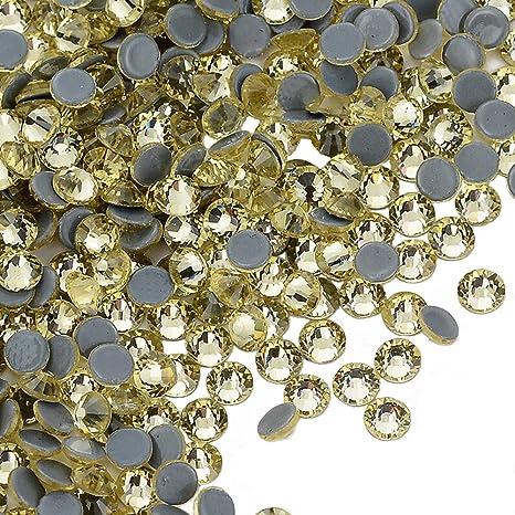 300 strass hotfix rhinestones Gold ø4mm ss16