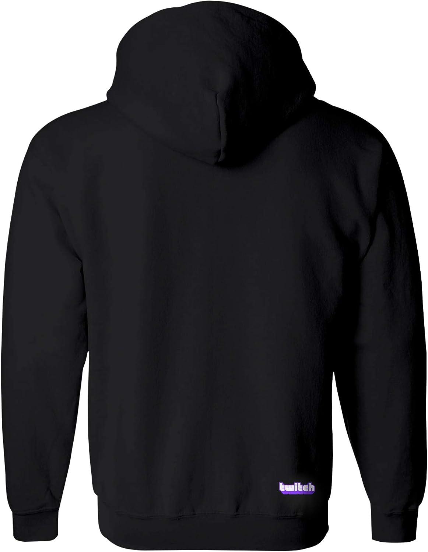 Twitch Core Glitch Pullover Black