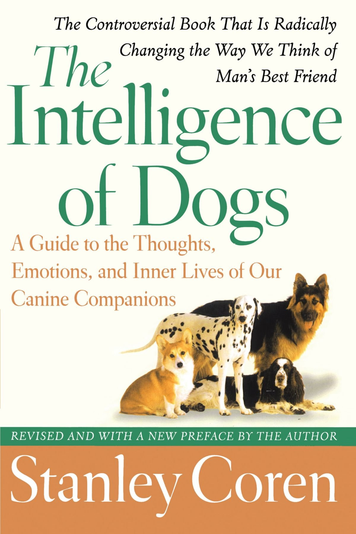Image result for image, photo, book, The Intelligence of Dogs,