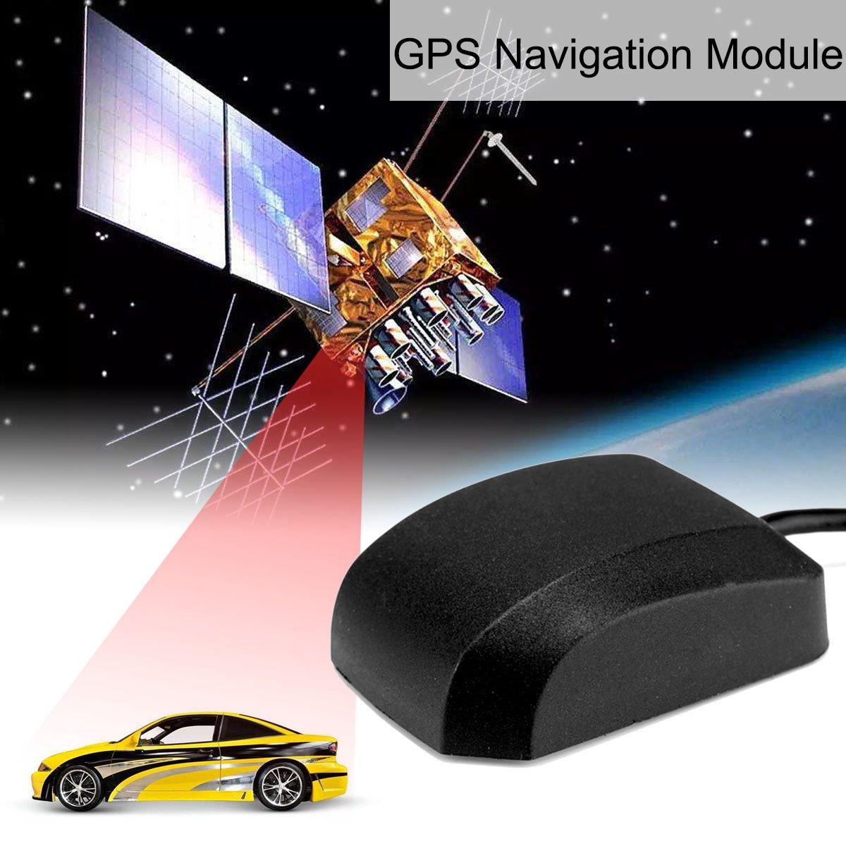 Moligh doll VK-162 Soporte de modulo de navegacion GPS USB de Ordenador portatil