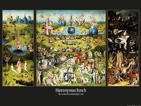 1art1 El Bosco - El Jardín De Las Delicias, 1500 Póster Impresión Artística (80 x 60cm): Amazon.es: Hogar