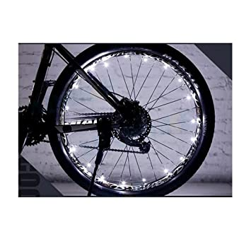 Kry exterior Ciclismo para bicicleta rueda luz LED Cool Bycycle luces LED con luces de bicicletas ...