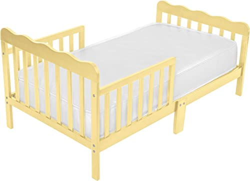 Fizzy Baby Wood Toddler Bed, Natural