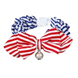 Cat Collar Bowtie with Reflective Bell, Comfortable