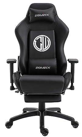 Dowinx Silla Gaming Sillón Reclinable Ergonómica para Computadora con Soporte Lumbar de Masaje, sillón estilo