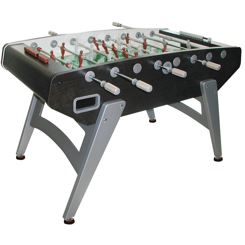 Garlando G 5000 Indoor Foosball Table With Telescopic Rods, Slanted Legs,  Abacus Scorers