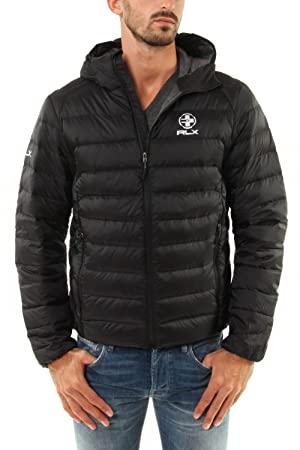 purchase cheap 5a256 e36fa RLX by Ralph Lauren Herren Daunenjacke Explorer - schwarz ...