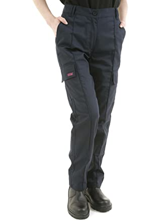 35a44f27e SITE KING Ladies Cargo Combat Work Trousers: Amazon.co.uk: Clothing