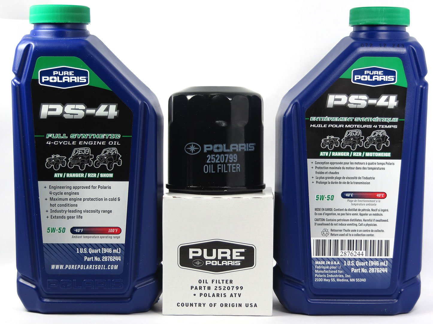 Amazon.com: 2000 POLARIS SPORTSMAN 335 POLARIS OIL CHANGE KIT: Automotive