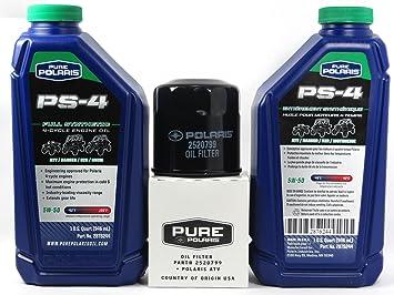 Amazon.com: 2005 POLARIS SPORTSMAN 500 POLARIS OIL CHANGE KIT ...