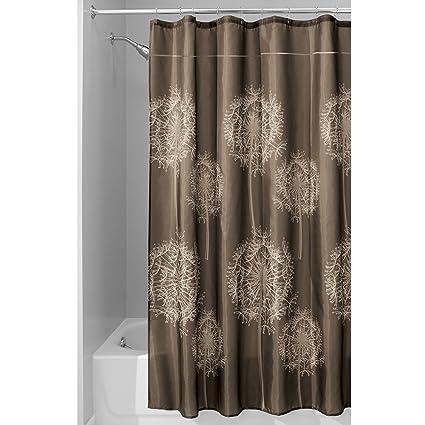Amazon Com Interdesign Dandelion Shower Curtain 72 X 84 Inch