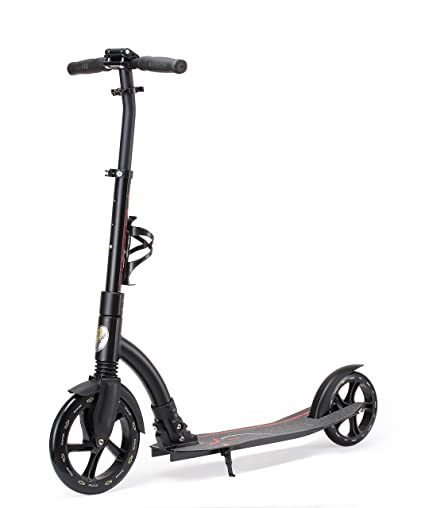 Star-Scooter Patinete 230mm Premium Big Wheel Plegable, para Adultos y niños Desde Aprox. 8 años Ultimate Edition