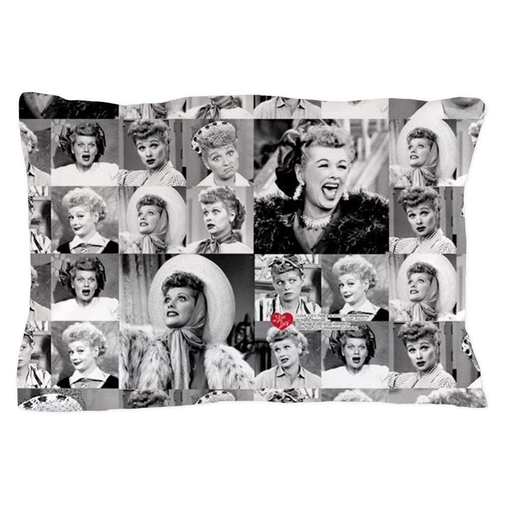 Unique Pillow Slip CafePress I Love Lucy Face Collage Standard Size Pillow Case 20x30 Pillow Cover