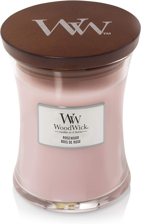 Woodwick Candle Light Pink Medium