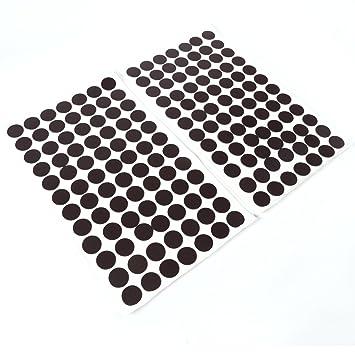 Takkis selbstklebend Magnetplättchen 4er Set 20 mm Rund zum Befestigen von Fotos